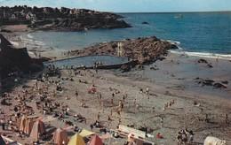 22. SAINT QUAY PORTRIEUX .  VUE AÉRIENNE .LA PLAGE DU CHÂTELET ET LA PISCINE..ANNEE 1959 - Saint-Quay-Portrieux