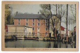 Cpa Bon Etat , Malesherbes, Moulin De Mirebeau, Carte Rare , Colorisée , Timbre Courrier Au Verso - Malesherbes