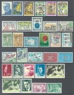 BELGIUM - 1963 - MNH/***LUXE -  JAAR ANNEE YEAR 1963 COMPLETE BLOC INCLUDED  - QUOTATION 31.50 EUR - Lot 17850 - Belgique