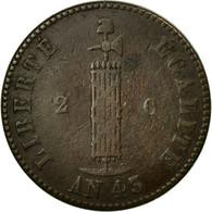 Monnaie, Haïti, 2 Centimes, 1846, TB+, Cuivre, KM:26 - Haïti