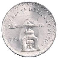 Ref. 251-271 - COI MEXICO . 1980. 5 PESOS CASA DE LA MONEDA BALANZA 1980 SILVER - Mexico