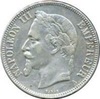 Ref. 835-942 - COI FRANCE . 1870. NAPOLEON III - 1870 - 5 FRANCS - France