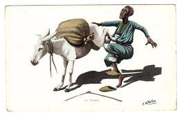 EGYPTE - Carte Fantaisie - Illustrateur E. B. NORTON - Le Toucher - Egipto