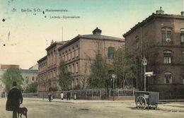 BERLIN S.O., Mariannenplatz, Leibniz-Gymnasium (1914) AK - Germany