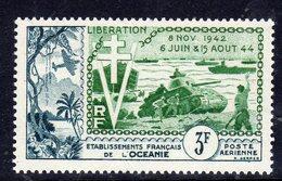 Océanie PA N° 31 X  10ème Anniversaire De La Libération. Trace De Charnière Sinon TB - Oceania (1892-1958)