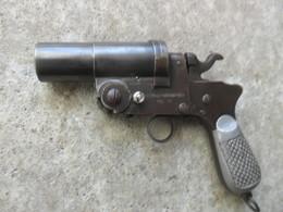 PISTOLET LANCE FUSEES ITALIEN WWII - Armes Neutralisées
