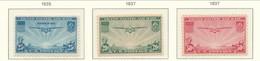 USA 1935-1937 Air Mail Scott # C20-C22. Transpacific Issues. MNH(**) - Air Mail