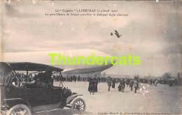CPA 54 LE ZEPPELIN A LUNEVILLE  1913 LE PETIT OISEAU DE FRANCE ALLEMAND - Luneville