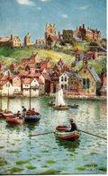 Angleterre. Whitby. Old Town. Carte Illustrée Oilette 7773 - Whitby