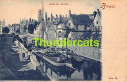 CPA BRUGES BRUGGE QUAI DU ROSAIR - Brugge