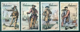 BAHAMAS Pirates Et Corsaires N° 628 / 631 N Xx TB Cote 24.50 €. - Bahamas (1973-...)