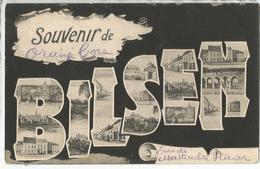 """8Eb-388: Souvenir De BILSEN """" Oranje  Boven""""  > Mechelen S/m 1906 - Bilzen"""