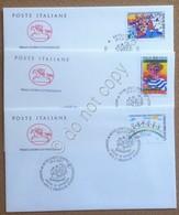 FDC Cavallino Italia Repubblica 2001 - Giornata Dell'arte E Della Creatività - Francobolli