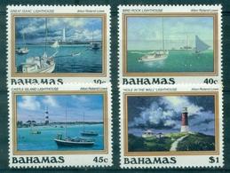 BAHAMAS Phares N° 624 / 627 N Xx TB Cote 20 €. - Bahamas (1973-...)