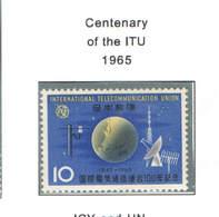 Giappone PO 1965 Cent.ITU  Scott.840+See Scan On Scott.Page; - 1926-89 Imperatore Hirohito (Periodo Showa)