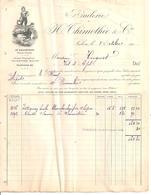 BOUCHES DU RHONE SALON  HUILERIE H THIMOTHEE  ANNEE 1910 FORMAT A4 - Alimentare