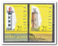 Litouwen 2013, Postfris MNH, Lighthouses - Litouwen