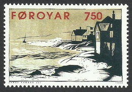 Faroe Islands, 7.50 Kr. 1996, Sc # 309, Mi # 307, MNH. - Faroe Islands