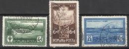 Rumänien 446/48 O - 1918-1948 Ferdinand, Carol II. & Mihai I.