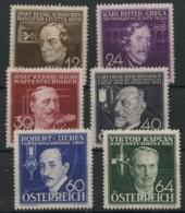 Autriche (1936) N 489 A 494 (charniere) - 1918-1945 1ère République