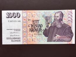 ICELAND P59 1000 KRONUR 2001 UNC - IJsland