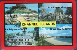 Channel Islands Pack Of Playing Cards Showing Different Views Unopened In Mint Condition. - Playing Cards (classic)