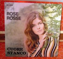 "RUDY RICKSON EDY BRANDO ROSE ROSSE CUORE STANCO   45 GIRI  7"" - Dischi In Vinile"