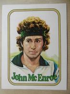 "Autocollant Stickers ""JOHN McENROE"" Adhsivos Panini Sport Tennis - Autocollants"