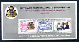 ERINNOFILIA / Centenario Accademia Navale Di Livorno 1881 - Erinnofilia