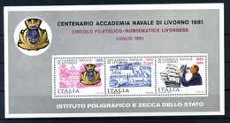 ERINNOFILIA / Centenario Accademia Navale Di Livorno 1881 - Cinderellas