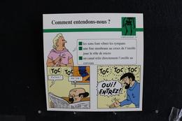 Fiche Atlas,TINTIN (extrait De, Tintin Et Les Picaros) - Corps Humain, N°42  Comment Entendons-nous ? - Sammlungen
