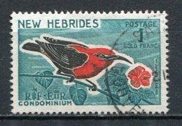 NOUVELLES HEBRIDES - Yv. N° 244    (o) 1f  Oiseau  Cote  4,5 Euro BE  2 Scans - Gebraucht