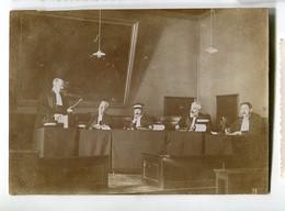 Tribunal Juge Avocat Plaidoirie  Cour à Situer Identifier XIX 1900 - Métiers