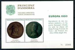ERINNOFILIA / Andorra Europa 1980 - Erinnofilia