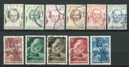 8793  PAYS-BAS  N°451/6 , 483/7 °  Au Profit Des Oeuvres Antituberculeuses Et Pour L'enfance  1946  TB - Period 1891-1948 (Wilhelmina)