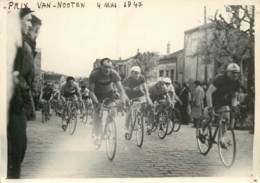 PHOTO CYCLISME PRIX VAN-NOOTEN 4 MAI 1947 - Radsport