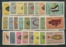 Mozanbique (1951) N 387 A 410 (Luxe) Sauf N 195 - Timbres