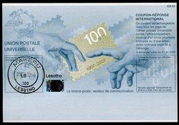LESOTHO  100 ANS !   20070419  Coupon Réponse International / International Reply Coupon - Lesotho (1966-...)