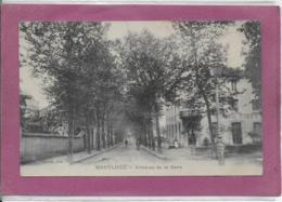 01.- MONTLUEL .- Avenue De La Gare - Montluel