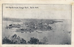 AUSTRALIA   - CP 1922 - STH PERTH FROM KINGS PARK PERTH W.A.  /1 - Australia