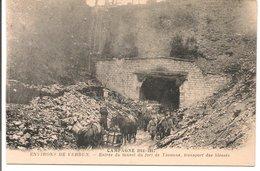 L32C57 - Guerre 1914-1917 - Verdun - Entrée Du Tunnel Du Fort De Tavanne, Transport Des Blessés - ND - Guerre 1914-18