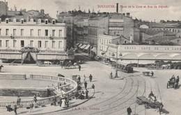 31 Toulouse.  Place De La Gare Et Rue Bayard - Toulouse