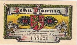 Deutschland Notgeld 10 Pfennig Mehl24.1 ALTENKIRCHEN /96M/ - [11] Emissions Locales
