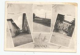 Italie Italia Italy - Bergamo -saluti Di  Spirano ; Via Garibaldi , Stabilimento , Municipia - Bergamo