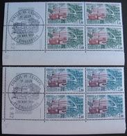 R1624/328 - 1982 - SERVICE - CONSEIL DE L'EUROPE - N°73 à 74 - 2 BLOCS NEUFS** CdF Daté ➤➤➤ CACHET 1er JOUR OFFERT - Nuevos