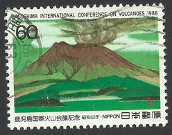 Japan, 60 Y. 1988, Sc # 1795, Mi # 1792, Used. - 1926-89 Emperor Hirohito (Showa Era)