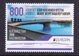 3.- KAZAKHSTAN 2018 EUROPA 2018 BRIDGES - Kazajstán