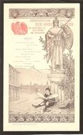 Menu : Association Amicale Des Anciens Eleves Du Collège Et Lycee De Valence. Hotel De La Croix D'or Valence (drome) - Menus