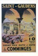 (31) SAINT GAUDENS  GRAND PRIX AUTO Et MOTO DU COMMINGES  10 AOUT 1947 - Saint Gaudens