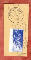 Briefstueck, EF Musikrat Sk, Handrollstempel, UB: Grossbuchstabe M, Briefzentrum 49, 2004 (57803) - [7] République Fédérale
